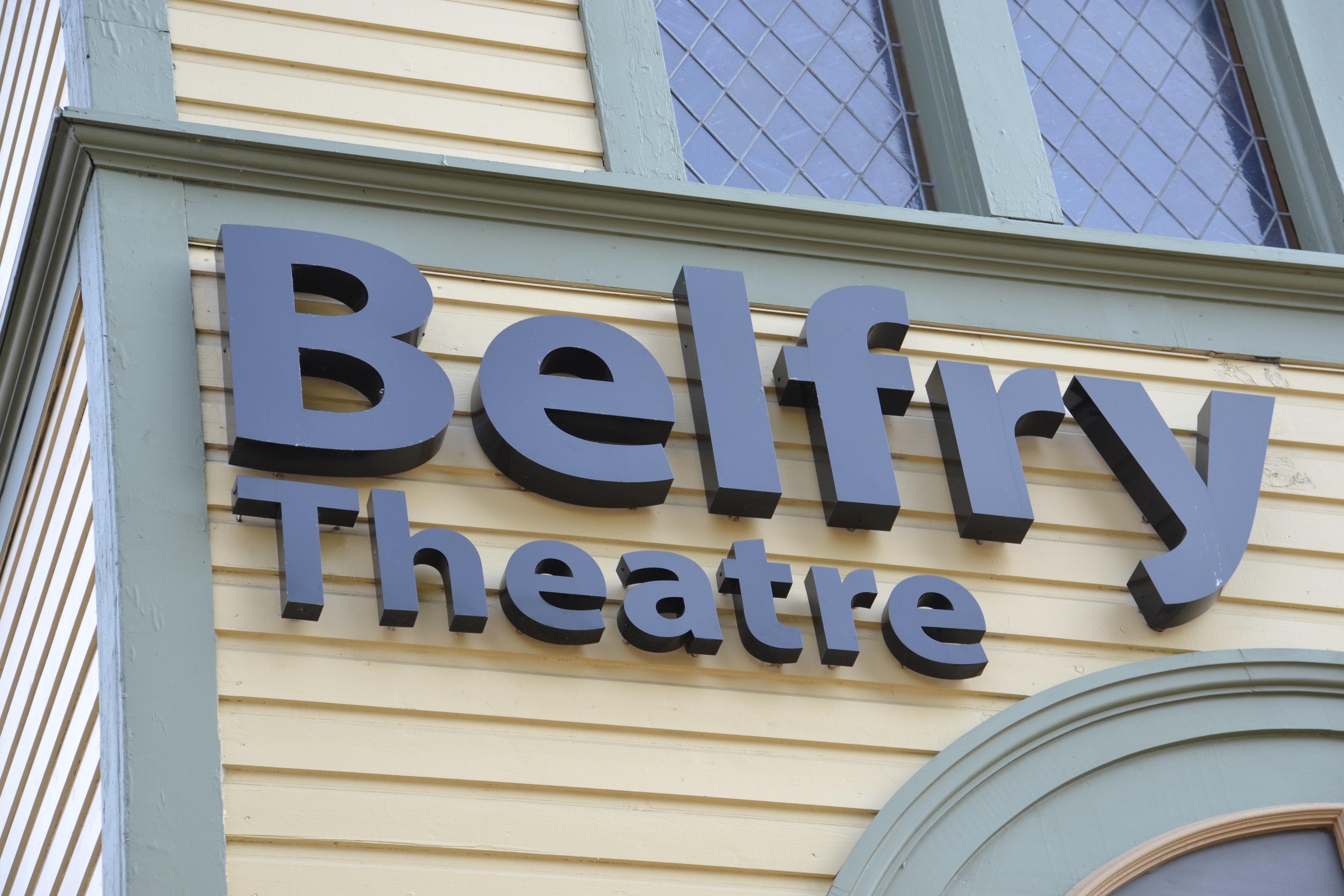 Belfry backlit channel letters – Garside Signs and Displays